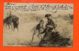 Salon 1901 - L.P. Sergent - BONAPARTE Attendant Sa Réserve (Marengo) (pli Coin Droit ) - Personnages