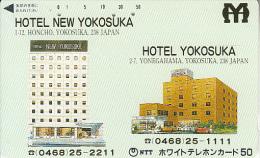 JAPAN - Hotel Yokosuka, NTT Telecard 50 Units(110-011), Used - Japan