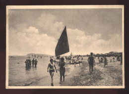 PESCARA - 1940 - LA SPIAGGIA - ANIMATISSIMA! - Pescara