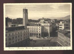 VARESE - 194O - PIAZZA MONTE GRAPPA E TORRE LITTORIA. ANIMATISSIMA! - Varese