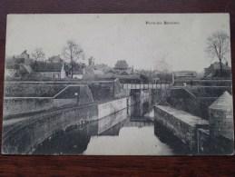 Porte Des BATELIERS (??) Belgique / La France (??) Identificier SVP - Anno 1917 Feldpost ( Zie Foto´s Voor Details ) !! - Cartes Postales