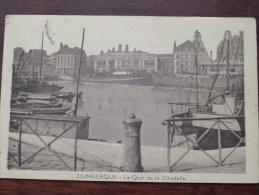Le Quai De La Citadelle Dunkerque ( Taxe ) Anno 1906 (?) ( Zie Foto´s Voor Details ) !! - Dunkerque