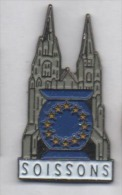 Beau Pin's , Ville De Soissons , église  , Aisne , Europe , CEE - Ciudades