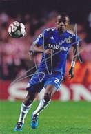 DEDICACE Autographe Football De Salomon KALOU (Côte D´Ivoire) Joue à Chelsea De 2006 à 2012 - Handtekening