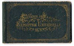 PARIS  EXPOSITION UNIVERSELLE  1878  -  ALBUM DEPLIANT - Expositions