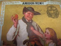 3 AMIDON REMY LEUVEN - LOUVAIN  Steendruk 1886  Veel Kleuren Litho, Prachtige Kwaliteit 11,5cm X 8,5 Cm - - Autres