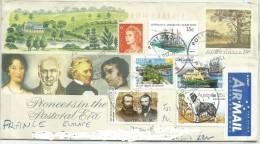 Jp AUSTRALIA  2011. AIR MAIL PAR AVION Cover Sent To France - 2010-... Elizabeth II