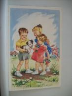 LOT 15 E DE 6 CARTES POSTALES ANCIENNES DIFFERENTES D'ENFANTS  BONNE FETE MAMAN - Humour