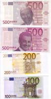 Lot N° 1. Billets Factices Billets Politique Syndical - EURO