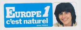 AUTO COLLANT EUPOPE 1 - ANNE PEREZ - Scanné Recto Verso - - Stickers