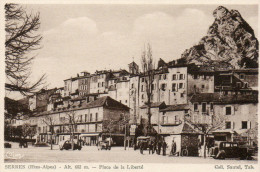20.  SERRES - Place De La Liberté - France