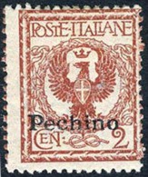 Italy Offices In China #13 Mint Lightly Hinged 2c Overprint From 1917 - 11. Foreign Offices