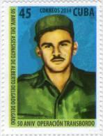 Lote CU2014-11, Cuba, 2014, Sello, Stamp,2v, 50 Aniv Operación Transbordo, Alberto Delgado, El Hombre De Maisinicú, Boat - FDC