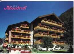 ZERMATT (Suisse-Valais) Hotel ABENDRUH - VOIR 2 SCANS - - VS Valais
