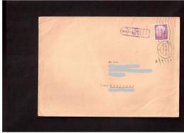 Bund 40 Pfg.Heuss Einzelfrankatur A.Fernbrief M.Poststellen-II-Stempel,Landpoststempel Von Haslach ü.Leutkirch 1958 - [7] Federal Republic