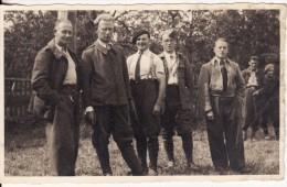 Carte Postale Photo Militaire Allemand CAMP Prisonniers-STALAG XIII A-Kriegsgefangenensendung -Cachet-Tampon-Stempel- - Guerre 1939-45