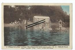 CPA - Trélon - L'étang De La Folie - A L'eau - Hôtel Restaurant Ouvert Toute L'année- - Unclassified