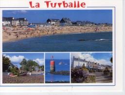 La Turballe.. Belle Multi-vues.. La Plage.. Le Centre-Ville - La Turballe