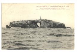 Cp, 44, Le Pouliguen, Pierre Percée, Vue De La Côte, Voyagée - Le Pouliguen