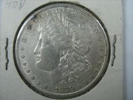 US USA 1 ONE DOLLAR MORGAN COIN SILVER 1879 S WEIGHT 26.67 GRAMS   LOT 10 - Émissions Fédérales