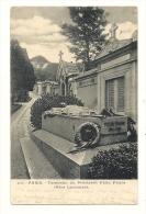 Cp, 75, Paris, Tombeau Du Président Félix Faure, Père Lachaise, Voyagée - Frankreich