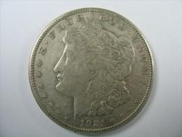 US USA 1 ONE DOLLAR MORGAN COIN SILVER 1921  S  LOT 10 NUM 200 - Emissioni Federali