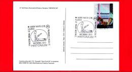 ITALIA - 2010 - Enit - Vastophil - Cartolina - 25 Premio Histonium - Annullo 4-6-2010 - Monumento Alla Bagnante - 2001-10: Marcophilie