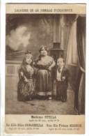 CPSM CELEBRITE NANISME SPECTACLE - Famille De Nains : Mme Stella 0,71 M, Safille Corabella 0,60 M Son Fils 0,50 M - Célébrités