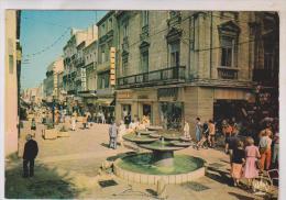 CPM DPT 34 SETE, LA RUE PIETONNE En 1985!! - Sete (Cette)