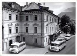< Automobile Auto Voiture Car >> Bus Autobus Coach Hotel Bad Ischl (carte Abimée Voir Scan) - Buses & Coaches