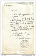 Cachet Des  Douanes Françaises Beauvoir  Sur Mer - Cachets Généralité