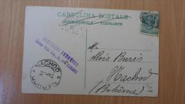 Italia  TORINO - Sent To NACHOD -  Giacardi Federico   D118105 - Italia