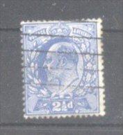 Great Britain 1902 King Edward VII, Mi.107B, Perf. 15:14, Used AM.073 - 1902-1951 (Re)