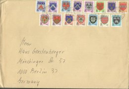 Jersey 1981 Large Cover, Coat Of Arms, 2 Sets K.311 - Jersey