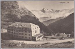 VS SIMPLON-KULM 1909-VII-30 Brig  Foto Louis Burgy #3679 - VS Valais