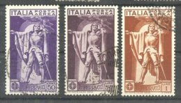 Italy 1930 Francesco Ferrucci, Airmail, Sass.A18/20, Mi. 342/344, Used AM.131 - Usados