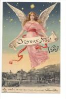 9811 - Vevey Joyeux Noël Ange - VD Vaud