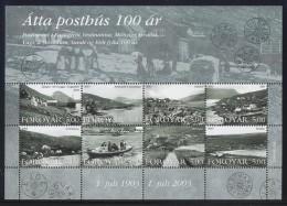 Faroe Islands - 2003 Post Offices Kleinbogen MNH__(FIL-6627) - Féroé (Iles)
