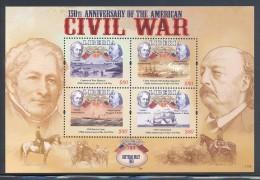 Liberia - 2011 Ciwil War (I) Kleinbogen (5) MNH__(FIL-10489) - Liberia