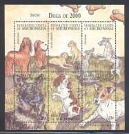 Micronesia - 2000 Dogs Kleinbogen MNH__(FIL-9918) - Mikronesien