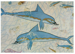 (PF 631) Greece - Heraklion Dolphin - Delphine