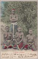 Südafrika 1905-12-11  ? Groupe De Femmes Indigènes Photo P.S. - Afrique Du Sud