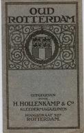 Oud Rotterdam H.Hollenkamp &Co 1914 - Histoire