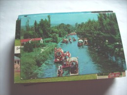 Mexico Lago De Xochimilco Floating Gardens - Mexico