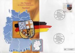 TK O 064/94 Wappen Natur-Park Im Saar-Land ** 25€ Auf Brief Deutschland With Stamp # 1712 Tele-card Wap Cover Of Germany - Germany