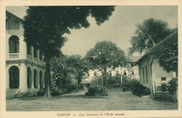ASIE - VIET NAM - SAIGON - Cour Intérieure De L'École Normale - Viêt-Nam