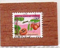 REP.  DU  CONGO  --  LE  BAMOU  --  FRUIT SAUVAGE  CONGOLAIS   -- ** 80 F. ** --  POSTE  2002  --  BEG - Used