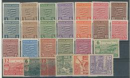 Provinz Sachsen Michel No. 66 - 91 X ** postfrisch / No. 80 Y