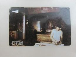 GPT Magnetic Phonecard,17MACC Traditional Profession- Paper-making,used Edge Damaged - Macau