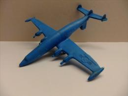ANTIGUO AVION DE PLASTICO USAF Fabricado En WestGermany - Jugetes Antiguos